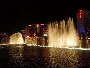 ホテルの噴水ショ―